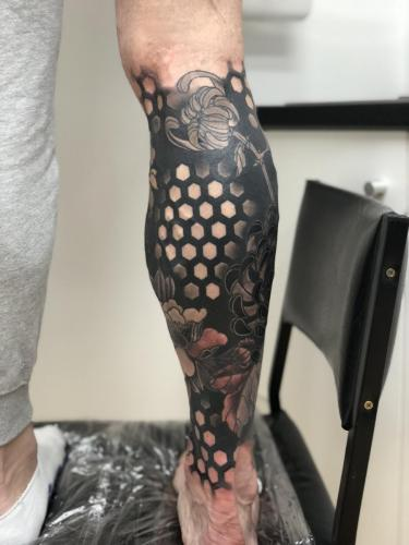 Work in Progress – Cover Up Leg Right